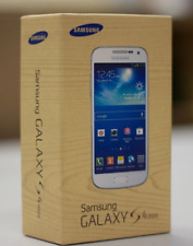 New Samsung Galaxy S4 mini GT-I9195- 8GB - White Frost / black mist Unlocked