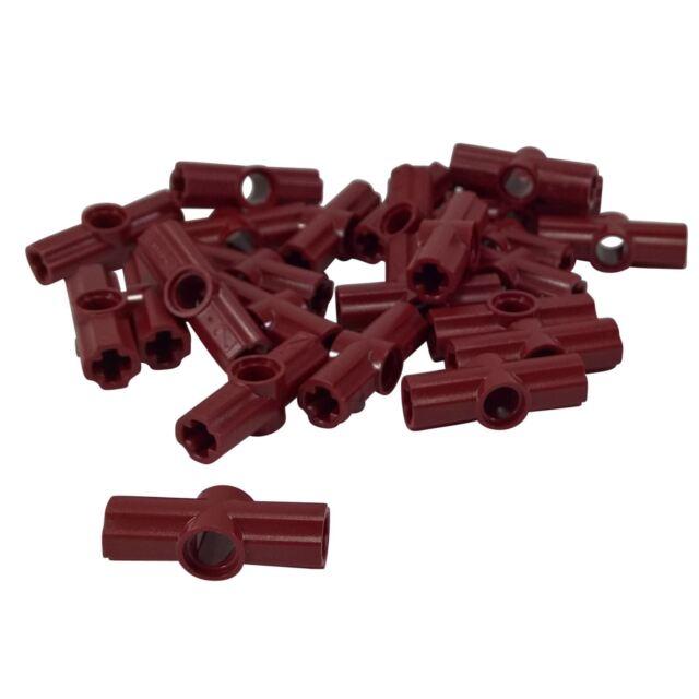 #2 Red Axle Connector Bricks ~ Technic ~ Lego ~ NEW 4