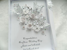 Personalised Birthday Card,Engagement, Anniversary, Wedding Day Christening Box