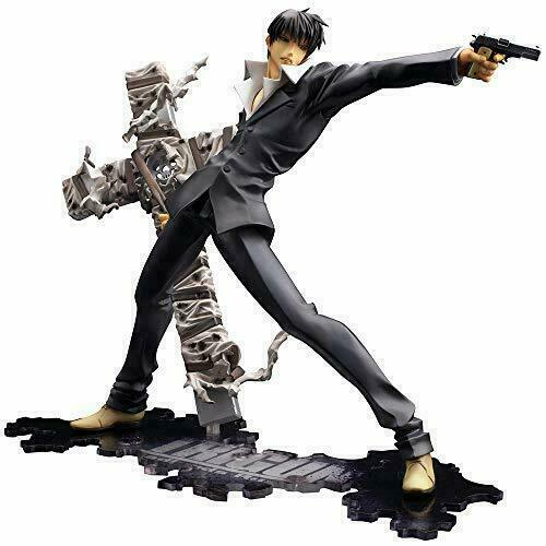 Kotobukiya Artfx J Trigun Badlands Rumble Nicholas D Wolfwood 20cm Statues For Sale Online Ebay