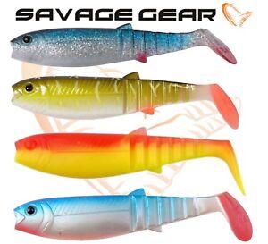 Savage-Gear-Cannibal-Shad-6-034-15-cm-pack-plastique-souple-appats-de-Peche-Jig-lure