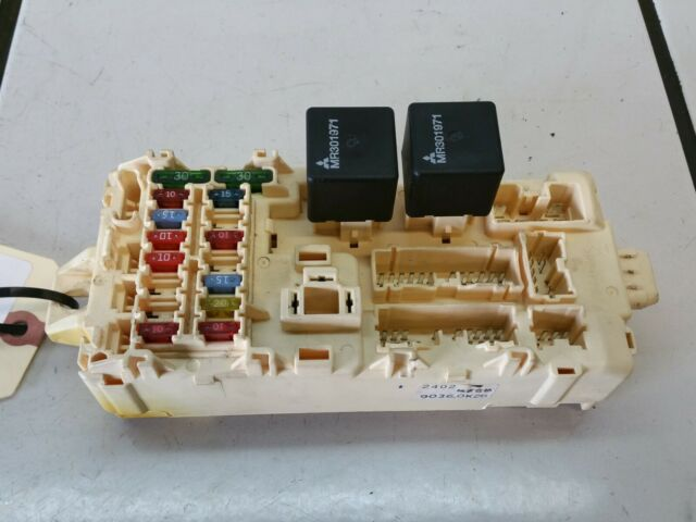 2001 Mitsubishi Eclipse Interior Fuse Box