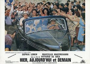SOPHIA-LOREN-MARCELLO-MASTROIANN-IERI-OGGI-DOMANI-1963-VINTAGE-LOBBY-CARD-7