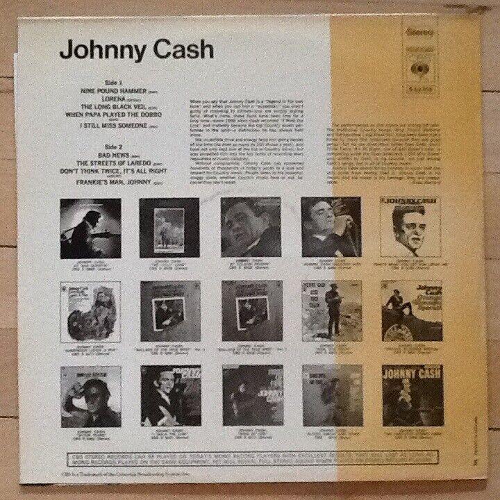 LP, Johnny Cash, Johnny Cash