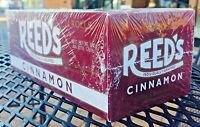 Reed's Cinnamon Is Back 24ct Full Case Classic Hard Candy Rolls Free Shipping