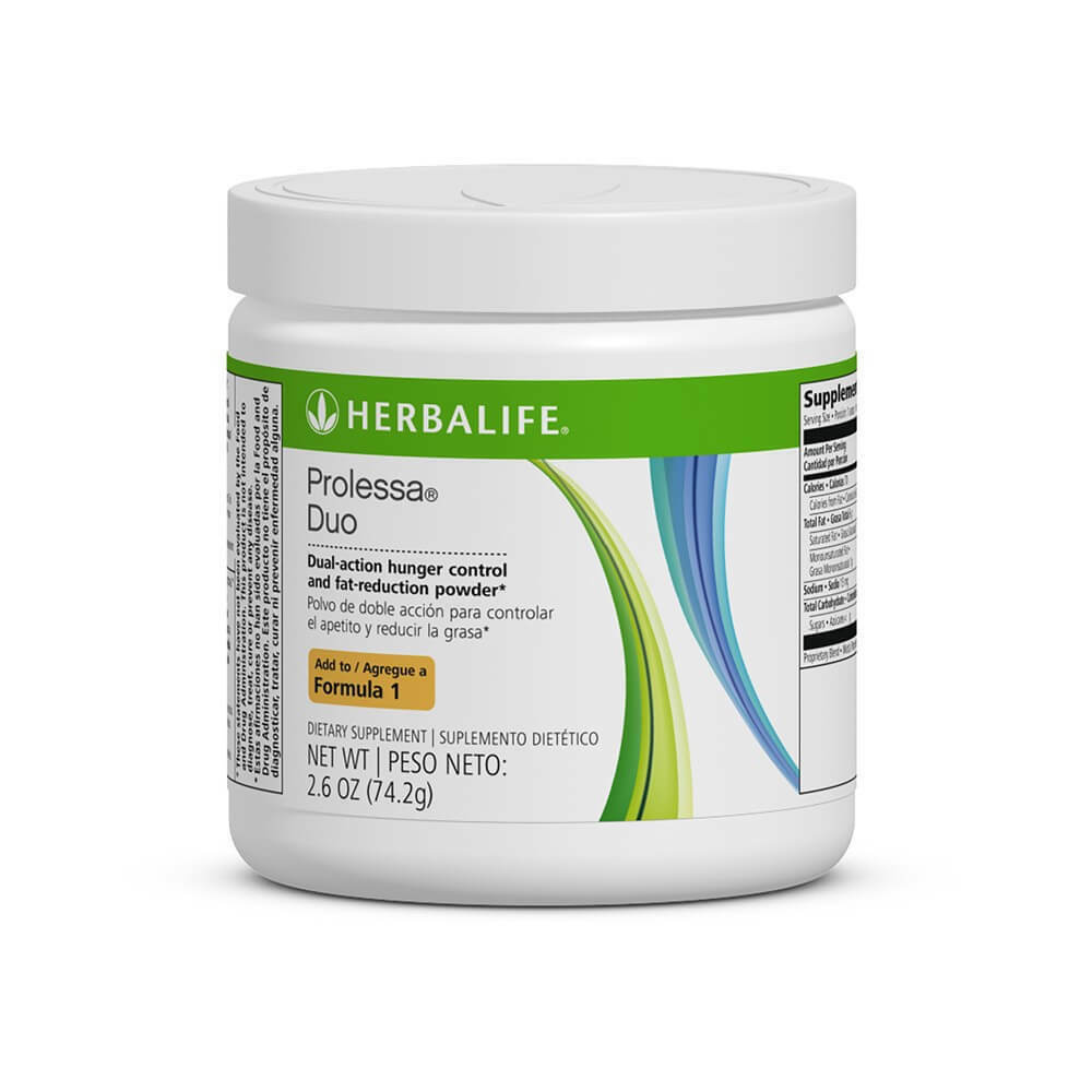 HERBALIFE PROLESSA DUO 2.6 OZ SUPPORT LOSE WEIGHT QUICK IN 7 DAYS LAST