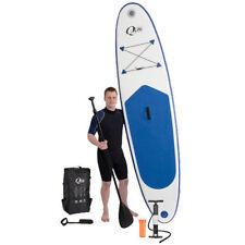 Surfbrett aufblasbar Board Set Stand Up Paddle Surfboard Wellenreiter Blau
