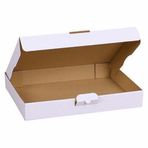 Faltkarton Postkarton in Weiß Karton Maxibrief Großbrief Sorte /& Größe Wählbar