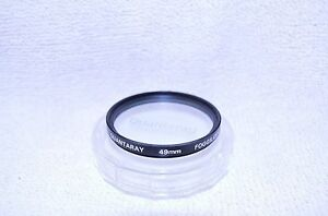 Quantaray-49-mm-Foggilizer-Screw-In-Filter-with-Case-Made-in-Japan-Q-118