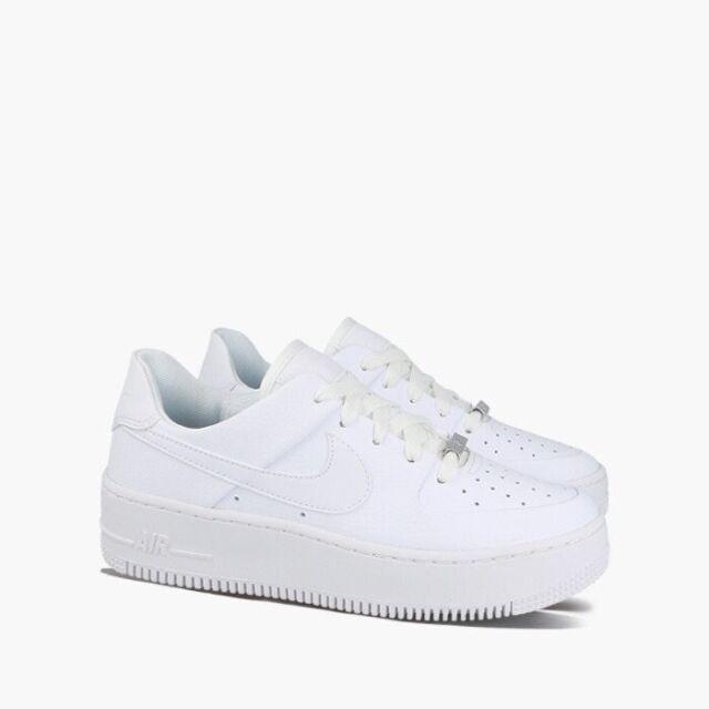 nike air force 1 platform women's white