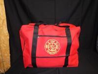 Large Gear Bag Fire Rescue Firefighter Turnout Gear Storage Back Up Bunker Gear