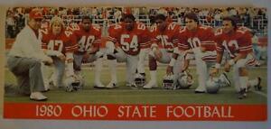 Vintage-Football-Media-Press-Guide-Ohio-State-University-1980