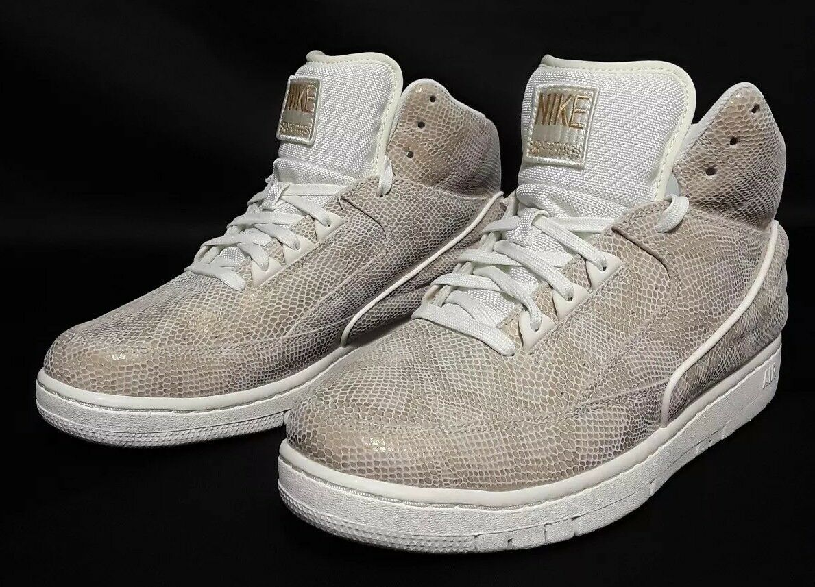 NIKE AIR PYTHON PREMIUM SZ 10.5 SAIL METALLIC gold