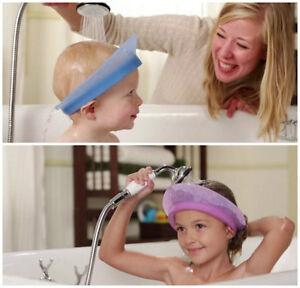Image Is Loading KAIR Air Cushioned Kids Bath Visor Baby Shampoo