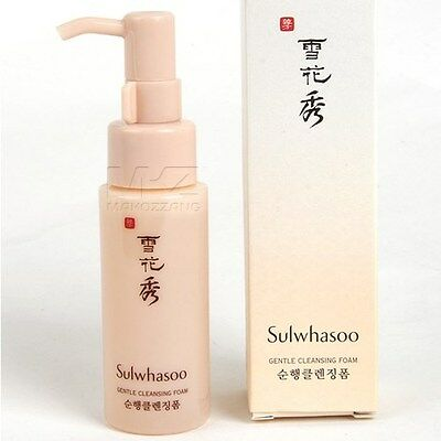Sulwhasoo Gentle Cleansing Foam 50ml Soonhang Cleansers Toner Amore Pacific+Gift