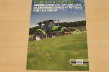 177130) Deutz Fahr Agrotron K Profiline Prospekt 2001