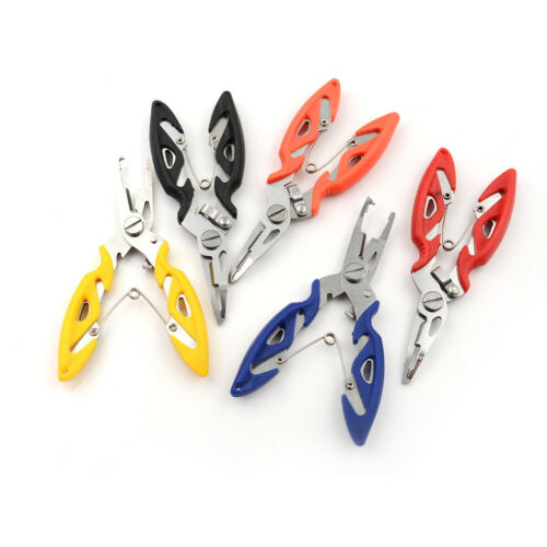 Portable Fishing Pliers Scissors Line Cutter Hook Tackle Accessories uf