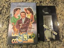 LAS VIEJAS DE MI COMPADRE RARE BIG BOX CLAMSHELL VHS 1987 SPANISH PEDRO INFANTE!
