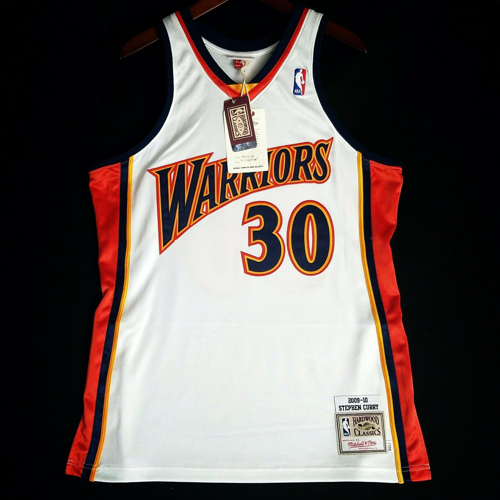 100% Authentisch Stephen Curry Mitchell Ness Ness Ness 09-10 Warriors Trikot Größe 36 S S  | Hat einen langen Ruf