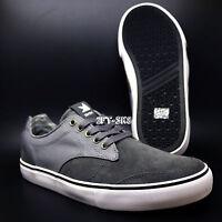 Dekline Chad Timtim Tim Tim Grey Suede Skate Skateboarding Shoes S519.1