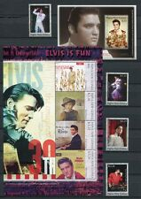 Papua Neuguinea 2006 Elvis Presley Musik Sänger Music 1208-11 Block 41-42 MNH