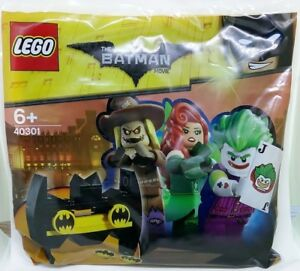 LEGO-The-LEGO-Batman-Movie-Rare-40301-Bat-Shooter-Polybag-New-amp-Sealed