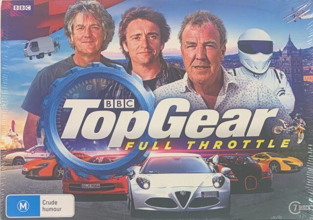 TopGear - Full Throttle (DVD, 2017, 7-Disc Set) Brand New Sealed Sent Tracked