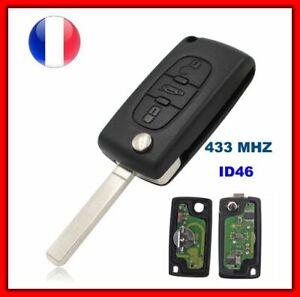 Cle-Vierge-ID46-CE0523-Pour-Peugeot-307-CC-308-407-607-Expert-jumpy-C4-C5-C6-FR