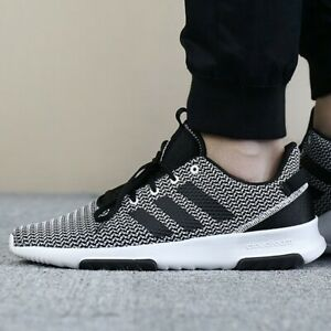 stile squisito piuttosto bella vera qualità Adidas Men Shoes Running Fashion Black Training Sports Cloudfoam ...