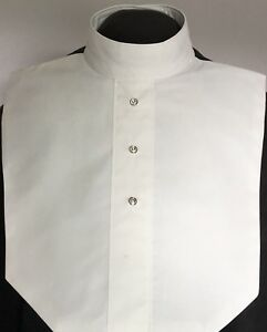 English-Hunt-Seat-Ratcatcher-Style-White-AB-Button-Show-Bib-Dickie