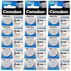 """""""15x Camelion Cr2025 Premium Lithium Batterie Cr 2025"""