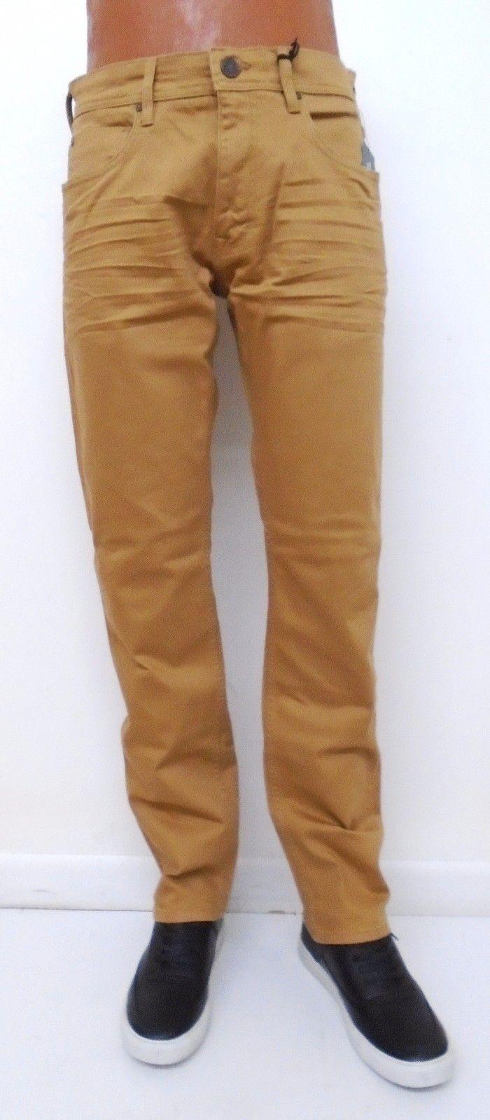 Men's JORDAN CRAIG Wheat Nashville Slub Twill Baking Jean Size 36x32 Brand New