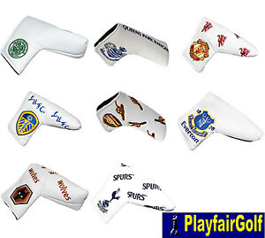 New-Premier-League-Football-Club-Blade-Golf-Putter-Head-Cover