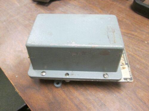 3-15 PSI Output 4-20mA Used Moore P//E Transducer 781P6 Input