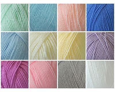 Cygnet Kiddies Supersoft Baby DK Double Knit Knitting Wool Yarn 100g