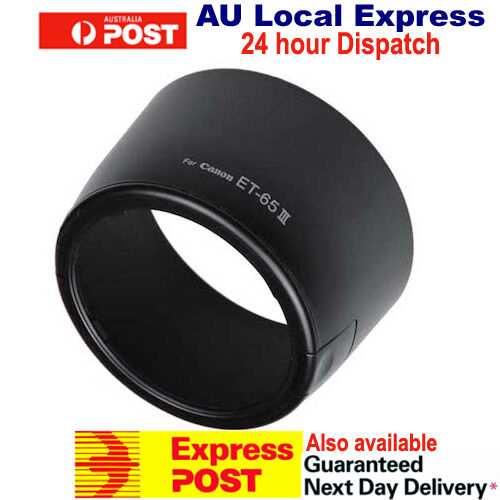 Camera Bayonet Can Flip ET-65III Lens Hood For Canon 100-300 85/100/135 mm OZ