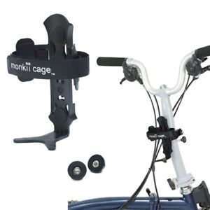 Monkii-Cage-Water-Bottle-Cage-Holder-For-Brompton-Folding-Bike-Universal