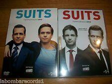 SUITS - TEMPORADA 1 + 2 - DVD COMO NUEVO - EDICION ESPAÑOLA - SERIE TV