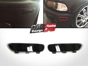 Smoke-Front-Bumper-Reflector-Fits-00-03-BMW-E46-2D-Coupe-amp-Cabrio-01-06-E46-M3