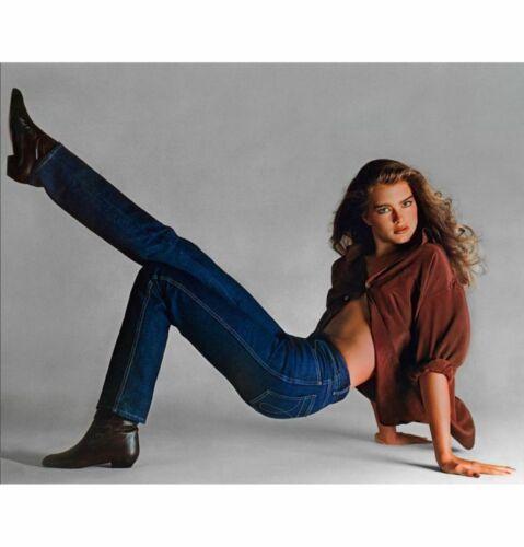 BROOKE SHIELDS Poster Pop 80s 90s 2000s Room Art Wall Print 2x3 Feet 1