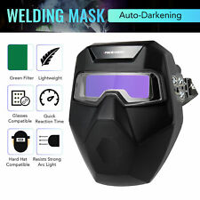 Auto Darkening Welding Mask W Detachable Goggles For Welding Grinding Cutting