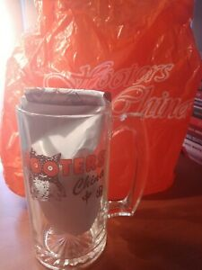 Details about New Hooters China 24 Oz Big Daddy Size Thick Glass Beer Stein  Mug Rare Shanghai