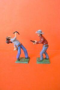 CBG MIGNOT / LE WESTERN : TRES BEL SCENE DE 2 COWBOYS  EN DUEL