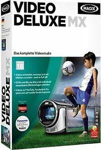 MAGIX Video deluxe MX (V.18) von MAGIX AG | Software | Zustand gut
