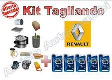 KIT TAGLIANDO RENAULT CLIO III 1.4 16V DAL 2005 OLIO ELF EVOLUTION 5W40 + FILTRI