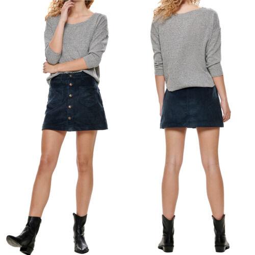 Only onlalba Femmes Col Rond Top trois-quarts Bras Shirt Col Rond XS S M L XL