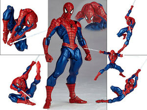 Marvel-Legends-Universe-Spider-Man-Revoltech-No-002-Figurine-Figure-No-Box