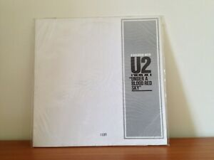 A DIALOGUE WITH U2 Promo LP #930 (vinyl Under A Blood Red Sky Joshua Tree)