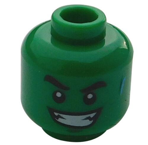 Lego cabeza en verde dos caras Beast Boy hombre 3626cpb1364 Batman nuevo