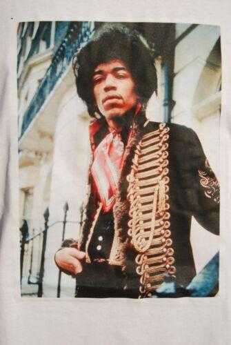 S,M.,L,XL Jimi Hendrix graphic retro art vintage mens Cotton t shirt